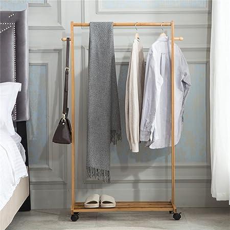 Perchero Suelo Escalera Racks, Dormitorio Percha Salón Simple Moderno Bamboo Racks Percha,Gancho de Ropa (Tamaño : 70cm): Amazon.es: Hogar