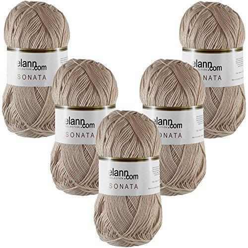 - elann Sonata Yarn | 5 Ball Bag | 7530 Nougat