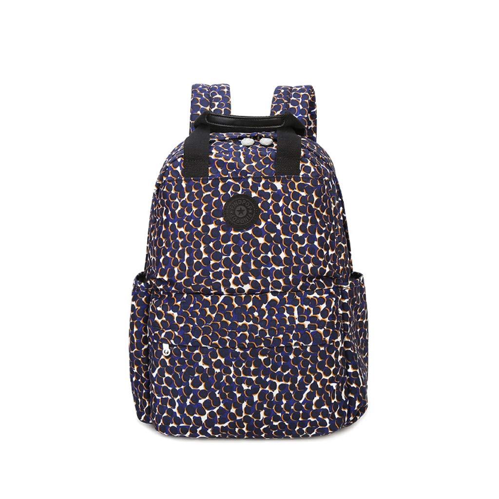 Color : Printed knapsack, Size : 2912.541cm HLJ Fashion Shoulder Bag Womens Bag European and American Leisure Sports Backpack Travel Bag