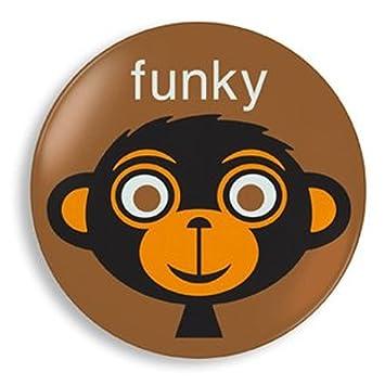 Amazon.com : Jane Jenni Set of 2 Kids Plates, Funky Monkey : Baby ...