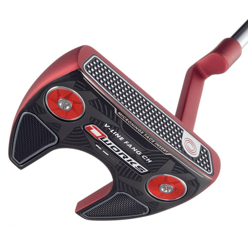 Odyssey Golf Japan O Works Red Putter V-Line Fang, 86,36 cm ...