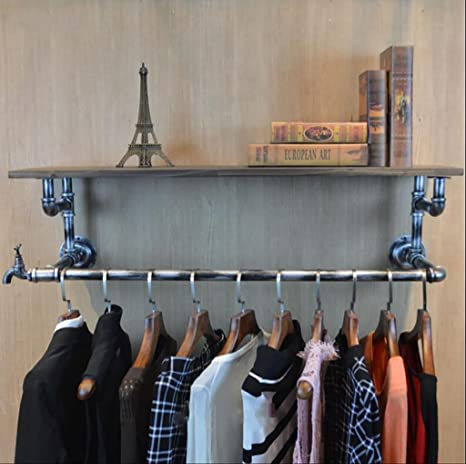 Amazon.com: GJ-bgymj Coat Racks Clothing Store Clothing ...