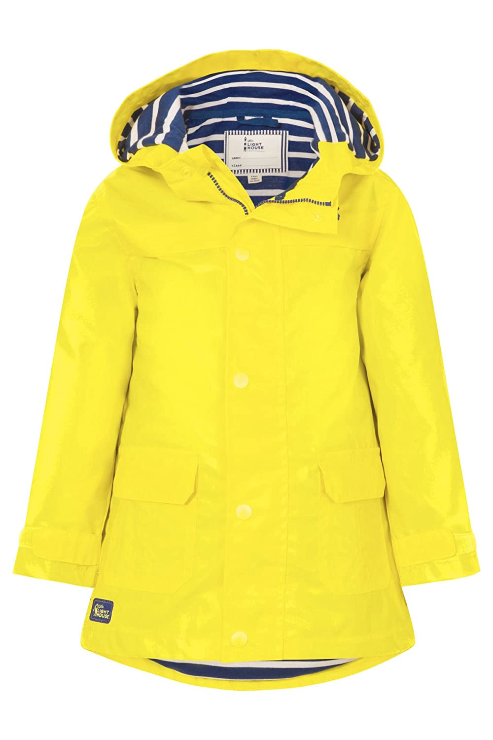 LightHouse Boy's Sailor Rubber Rain Coat 8942807826
