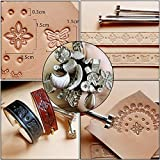 BUTUZE Leather Craft Set, 22 Pieces Leather Tool