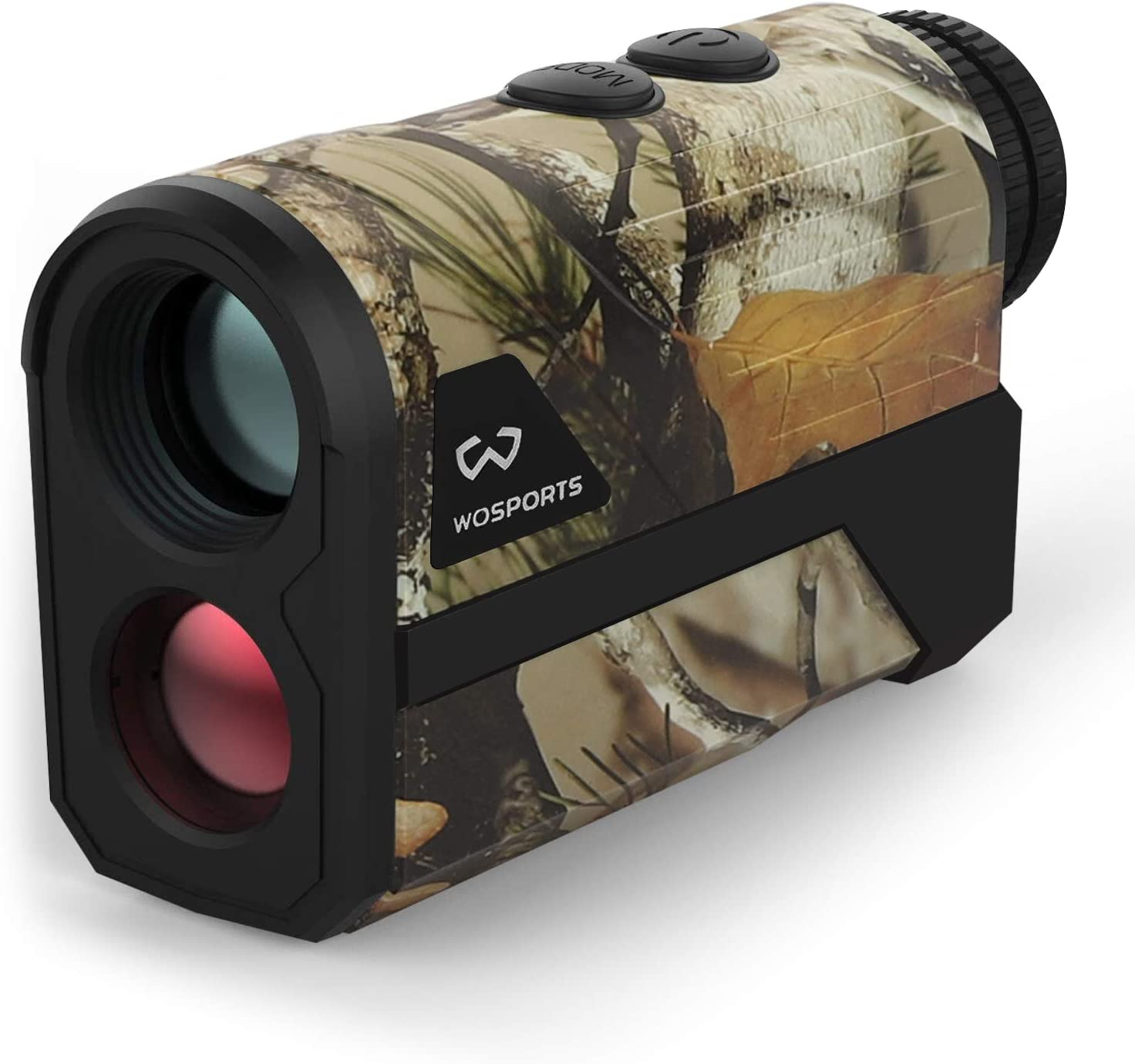 WOSPORTS 1000 Yards Hunting Rangefinder,Archery Rangefinder – Laser Range Finder for Hunting Golf with Speed, Scan and Normal Measurements