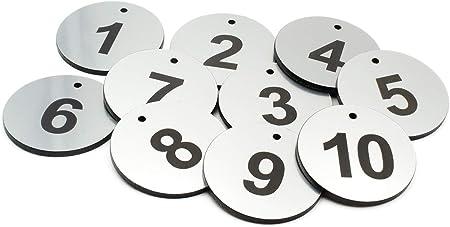 /Bleu Ovale Blanc grav/é Num/éros Key Tags B /& BS Porte-Cl/és Num/érot/és DE 1//à 5/ lentreprise pour Les H/ôtels ORIGIN Porte-Cl/és Les Chambres dh/ôtes