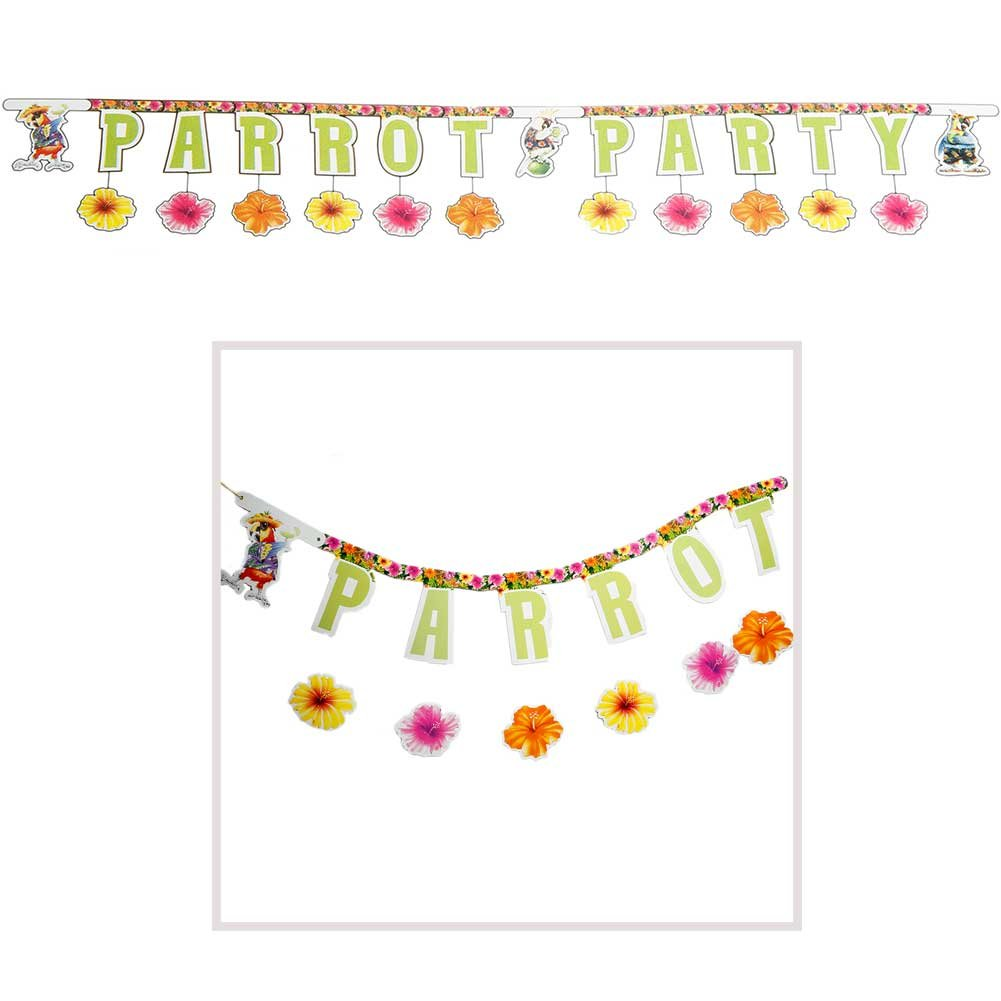 Creative Expressions Parrot Party Jointed Banner