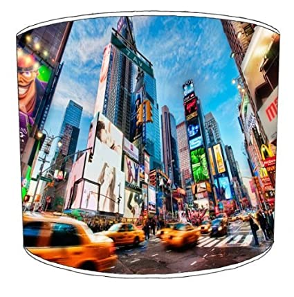 Premier Lampshades - Cuadro New York Times Square lámpara ...