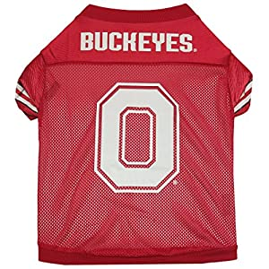 Sporty K9 Ohio State Football Jersey for Dogs, Medium