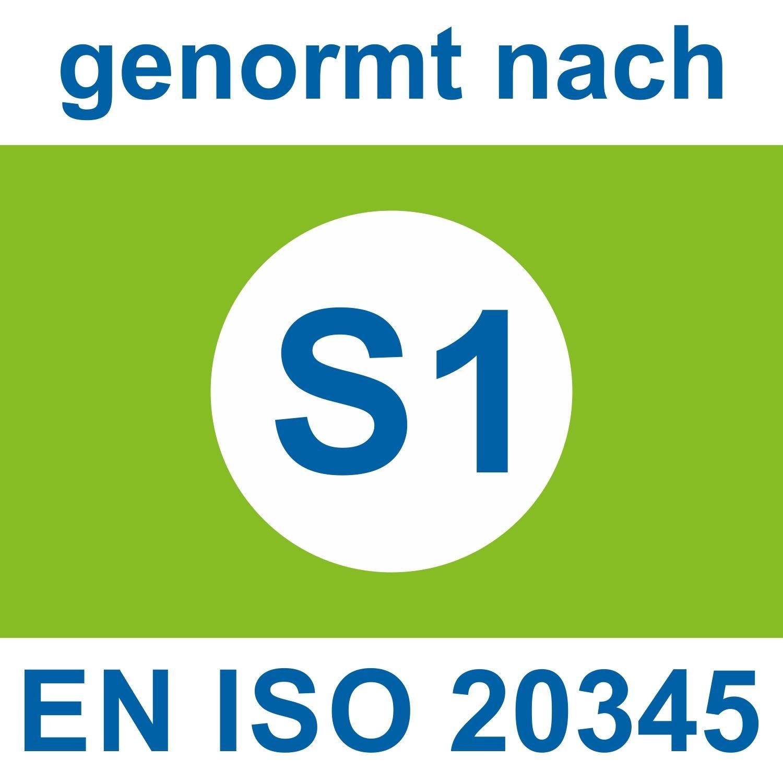 Atlas S1P SL 205XP green EN ISO 20345 S1P Atlas Sicherheitsschuhe /Arbeitsschuhe schwarz-grün XP cab449