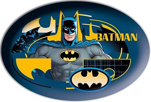 TopschnaeppchenDSH Batman - Cojín Ovalado (40 x 27 cm ...
