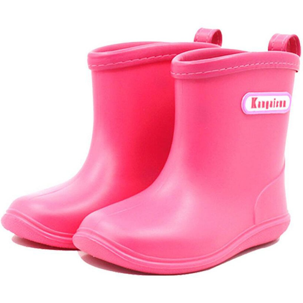 Baby Rain Boots Toddler Waterproof Boots Boys girls Anti-slip Shoes Ltd
