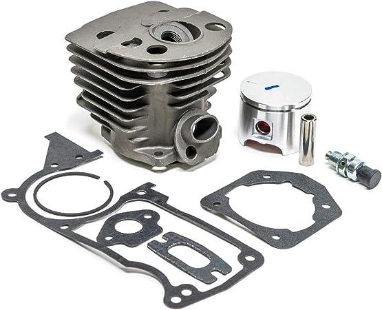 Max Motosports Cylinder Piston Rebuild Kit Assembly Fits Husqvarna 55 51