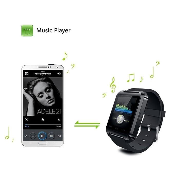 U-Watch U8s Impermeable Inteligente Reloj Teléfono Mate con ...