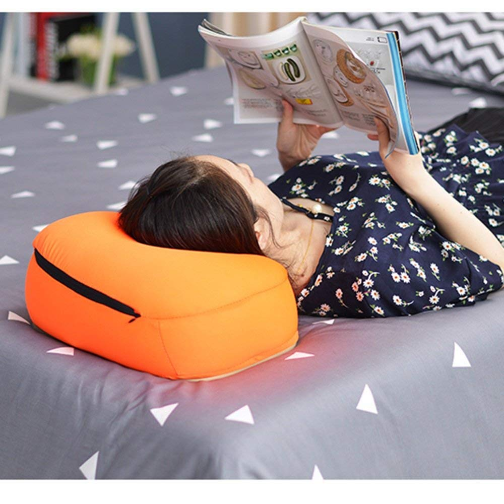 stts Lazy Table- Tray Tables Pillow Table Escritorio de computadora Knee Portable Lazy Table Knee computadora Bed Mesa móvil Cushion Tablet Table Mini Small Table Ahorre Espacio,Rosado 378d88