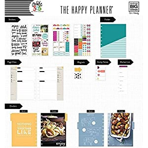 me & my BIG ideas BOX-122 Create 365 The Happy Planner Box Kit 12 Month Undated, Cooking Classic