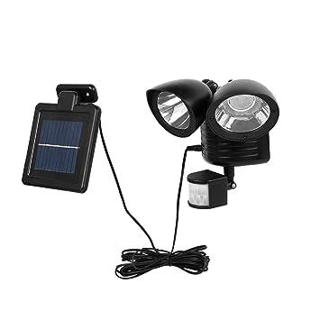 Amazon.com: Gallity - Foco solar con sensor de movimiento ...