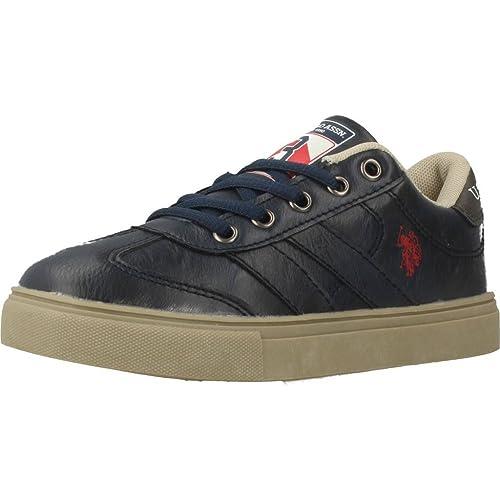 Zapatillas para niño, Color Azul, Marca POLO, Modelo Zapatillas para Niño POLO RINO1 Azul: Amazon.es: Zapatos y complementos