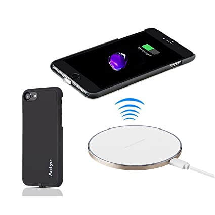 Amazon.com: jinqiu Cargador inalámbrico Qi Kit para iPhone 7 ...