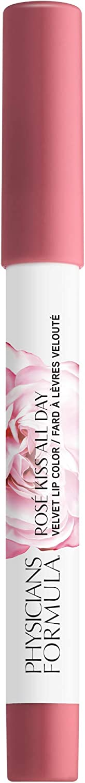Physicians Formula Rosé Kiss All Day Velvet Lip Color, First Kiss, 0.15 Ounce