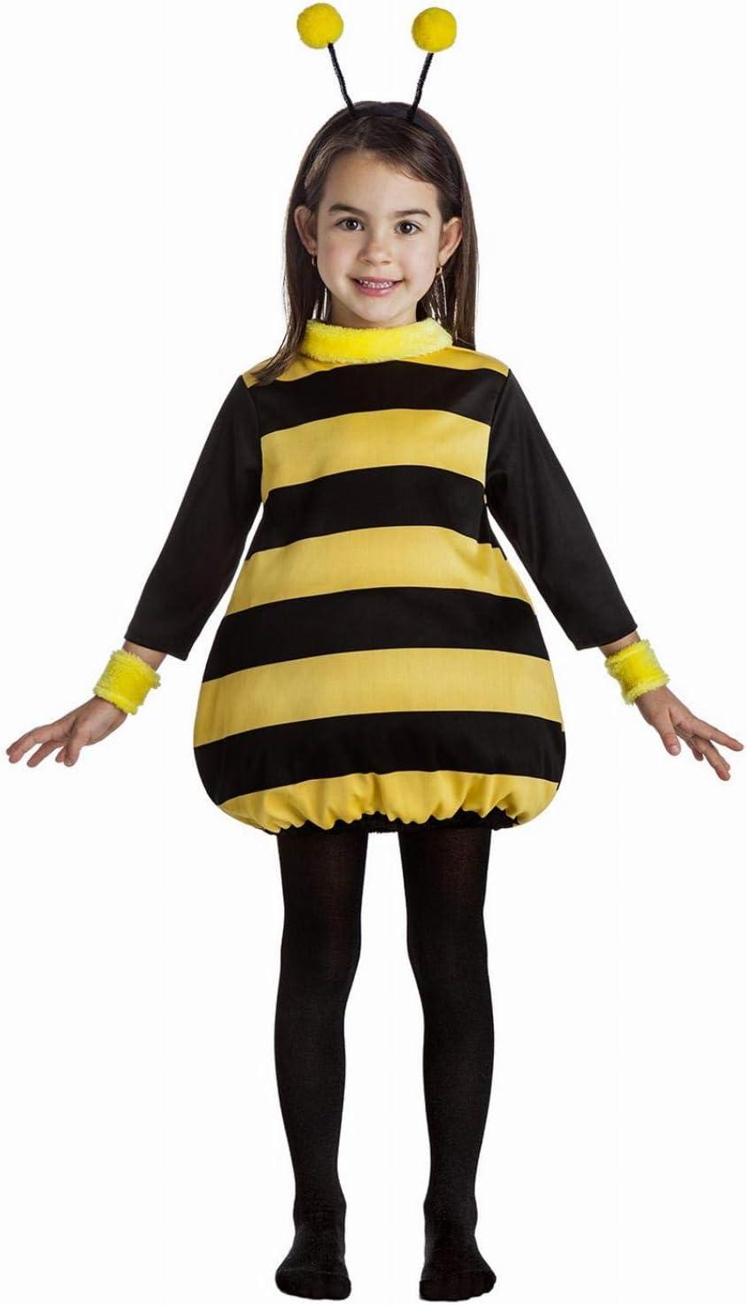 Disfraz de Abeja Infantil (5-6 años): Amazon.es: Juguetes y juegos
