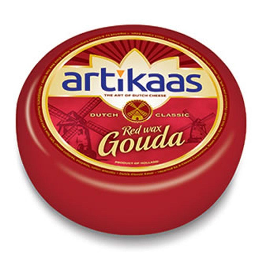 Holland Gouda Cheese Wheel - Red Wax - Approx. 10Lb-Wheel