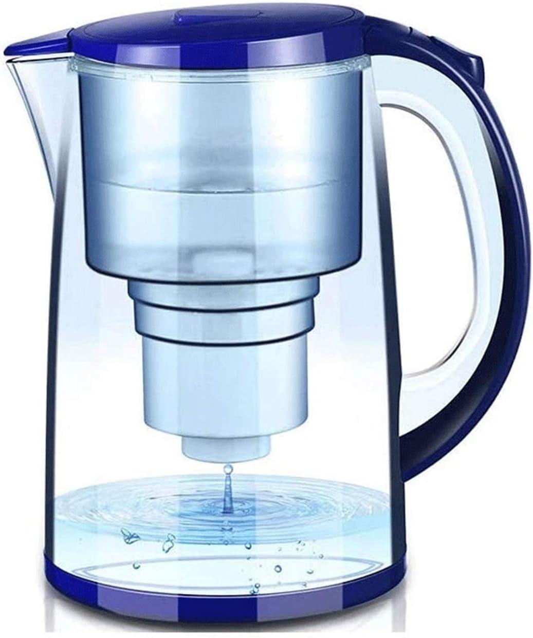 Sdesign Lanzador de Filtro de Agua Fluoruro 3.3L □ Elimina el fluoruro, el Plomo, Las microplásticos: un dispensador de filtrado Ultra por Debajo del Filtro portátil (Size : 1core)