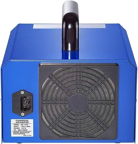 LZH FILTER Generador de Ozono Comercial 3.500mg-7.000 MG/h con Temporizador, Aire Esterilizador, Elimina el Olor, el formaldehído y el Moho: Amazon.es: Hogar