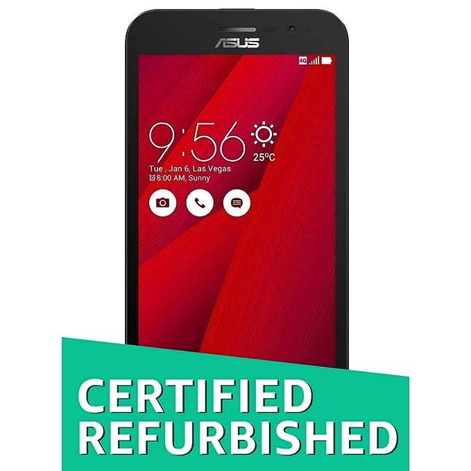 (CERTIFIED REFURBISHED) Asus Zenfone Go 5.0 LTE 2nd Gen (Red, 16 GB) (2 GB RAM) Smartphones at amazon