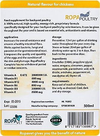 Amazon.com: My Pet - Aceite de olivar para gallina de roca ...