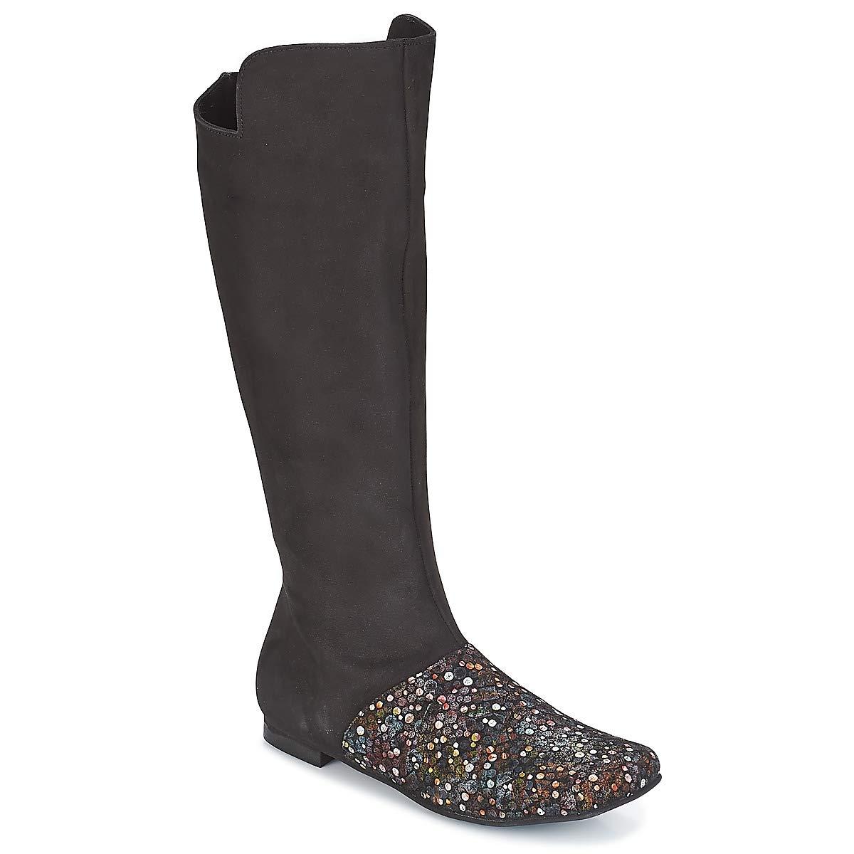 Papucei Malva Stiefel Damen Schwarz Klassische Stiefel