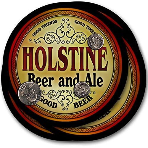 Holstineビール& Ale – 4パックドリンクコースター   B003QXULFC