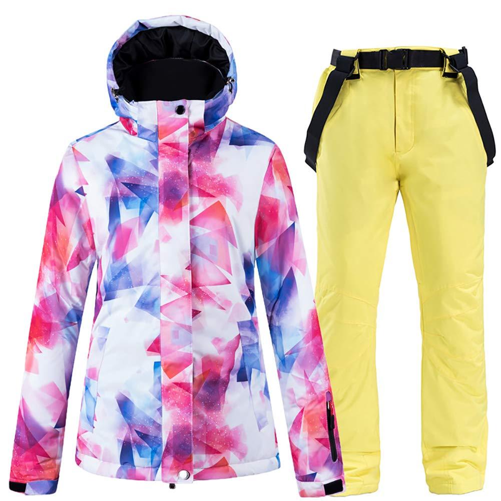 SKI Trajes de esquí de Invierno para Mujer Chaquetas de ...
