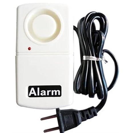 Lorjoy Indicador LED de fallo de alimentación de Alarma 120db Inicio de Seguridad Automática Electricidad a Partir de Advertencia
