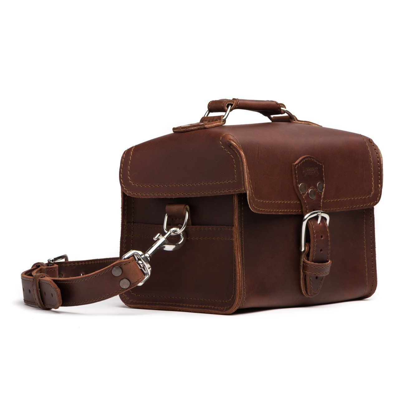 Saddleback Leather Camera Bag - 100% Full Grain Leather with 100 Year Warranty