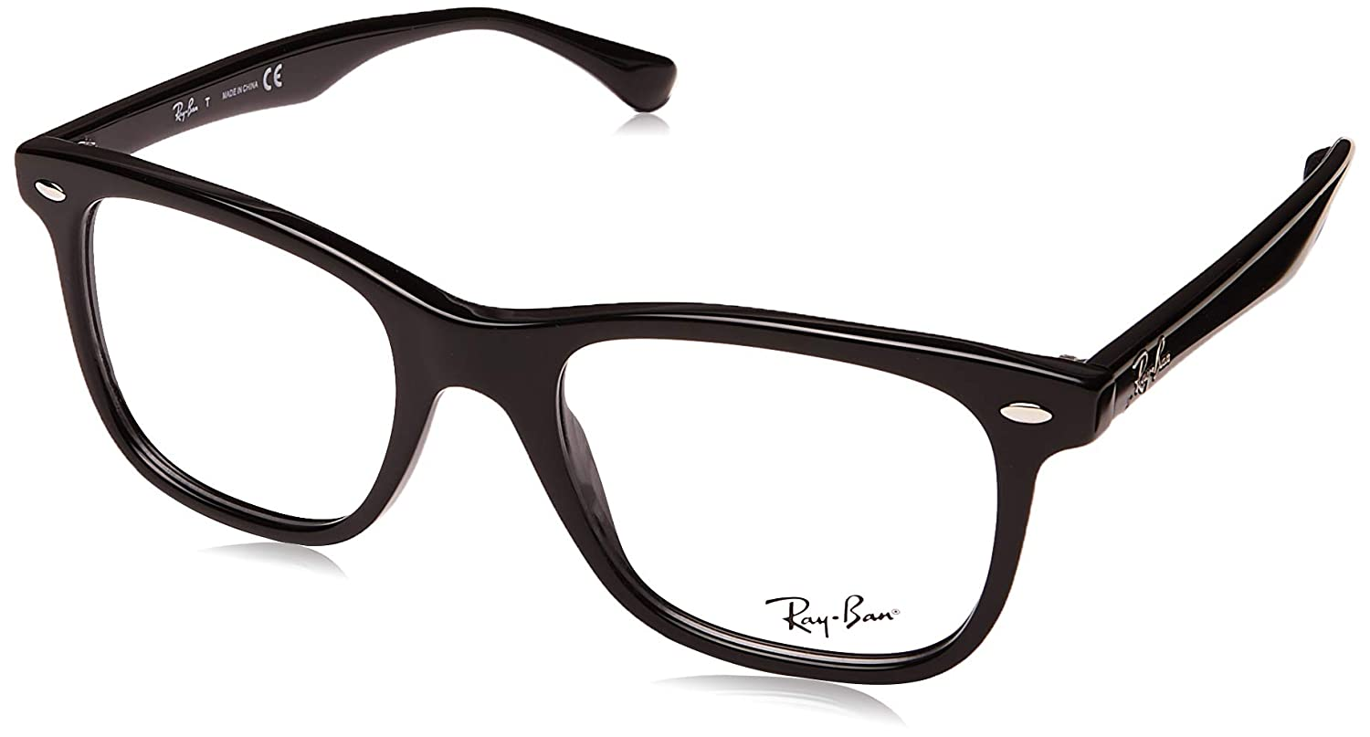 Amazon.com  Ray-Ban RX5248 Eyeglasses 2000 Shiny Black 51mm  Shoes 61cb37caa21d