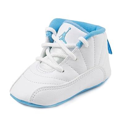 277395aa4f4fb Amazon.com | Nike Baby Boys Jordan 12 Retro Gift Pack White/Metallic ...