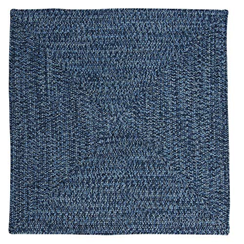 Home Decorators Collection Marilyn Tweed Ocean Wave 4 ft. x 4 ft. Square Braided Rug