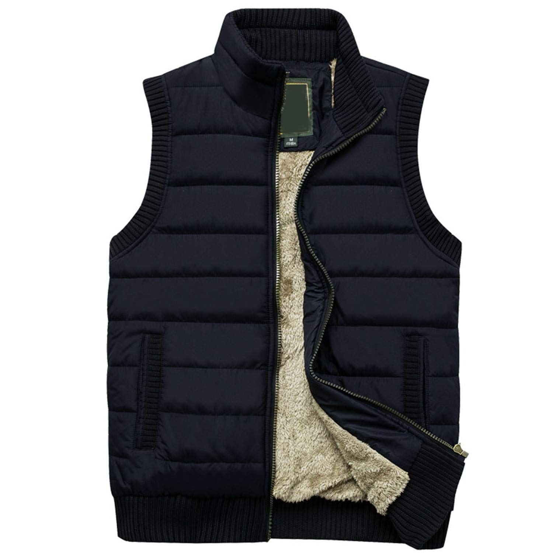 Men Women Autumn Sleeveless Vest Fleece Jacket Zipper Coat Waistcoats Sport
