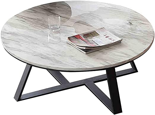 Muzi-Coffee table Mármol Natural Mesa De Café, Simple Moderna ...