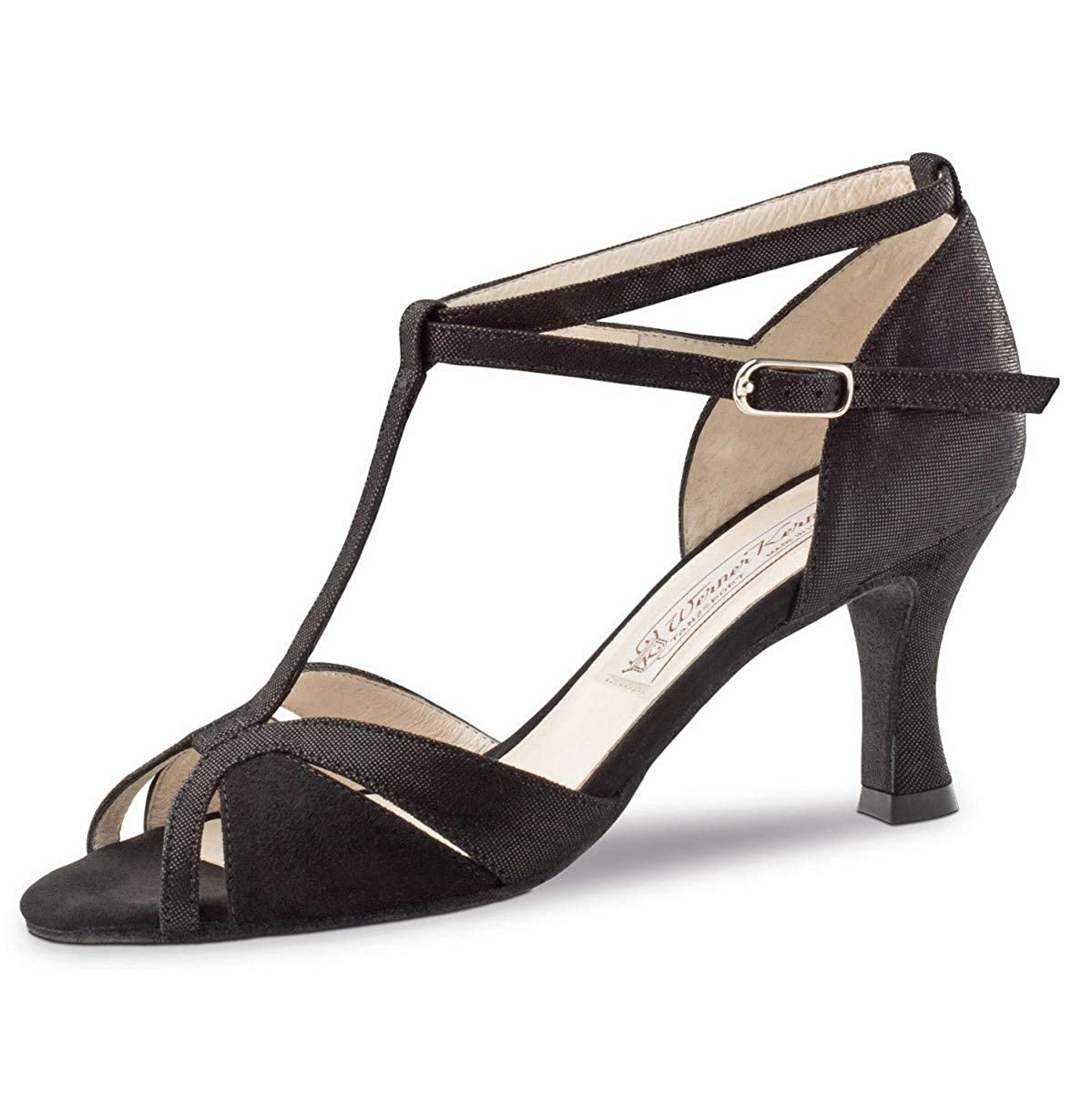 Chaussures Noir Étroit Werner 6 Ida De Danse Femmes Suéde Kern 29WEYbHeDI