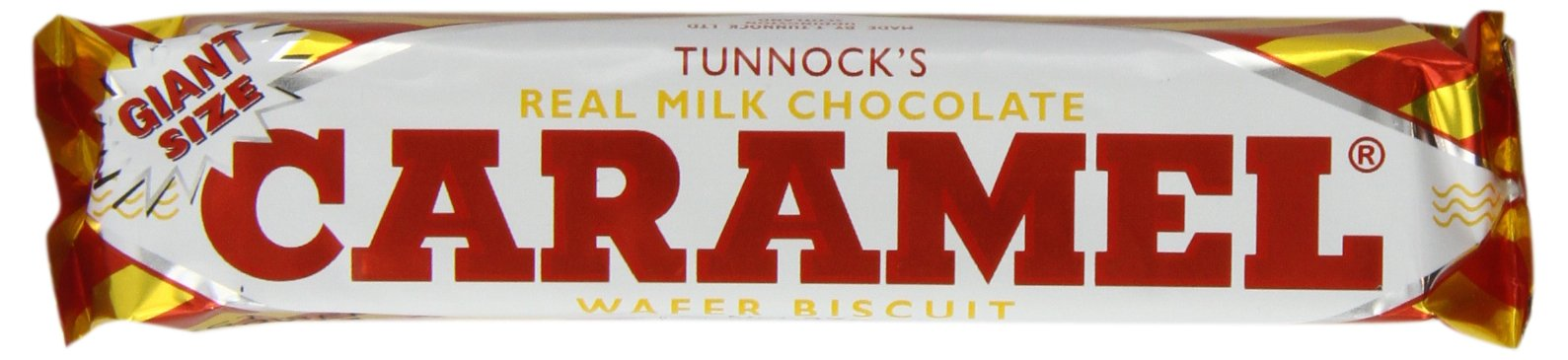 Tunnock's Real Milk Chocolate Caramel Wafer Biscuits 37 g (Pack of 36)