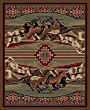 Cheap Rugs of Dalton AD6848-0508 Mesa Verde Rug, 5′ x 8′, Multi