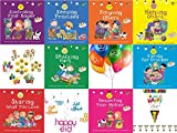 Akhlaaq Series Ultimate Eid Goody Gift Pack: 8 Akhlaaq series books based on Islamic Manners, Eid Mubarak Happy Eid Swirls, Eid Flags, Eid Balloons & Goody Bag