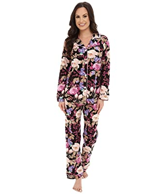 a24ad1cbcb5 Amazon.com: BedHead Women's Classic Noir Closet Romantic PJ Set, XS (US  2-4): Clothing