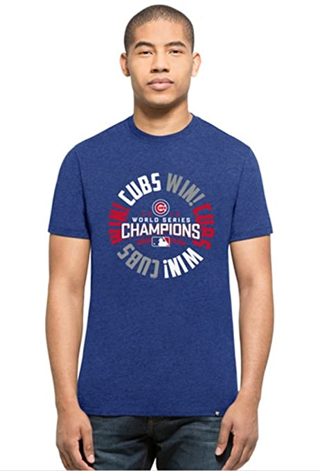 6554f7298 Amazon.com   Chicago Cubs 2016 World Series Champions Club Champs T ...