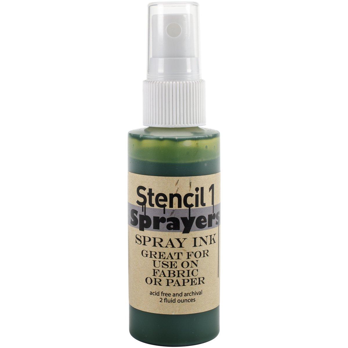 Stencil1spruzzatori d' inchiostro, colori standard 2oz Verde SP-ST-GREEN
