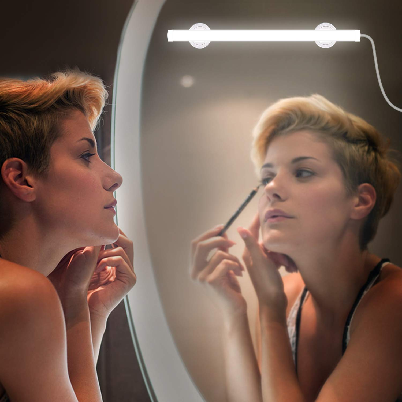 LED Mirror Lights,Super Bright Vanity Lights Kit,2 Modes Dimmable Makeup Light for Bathroom Dressing Room Vanity Table.