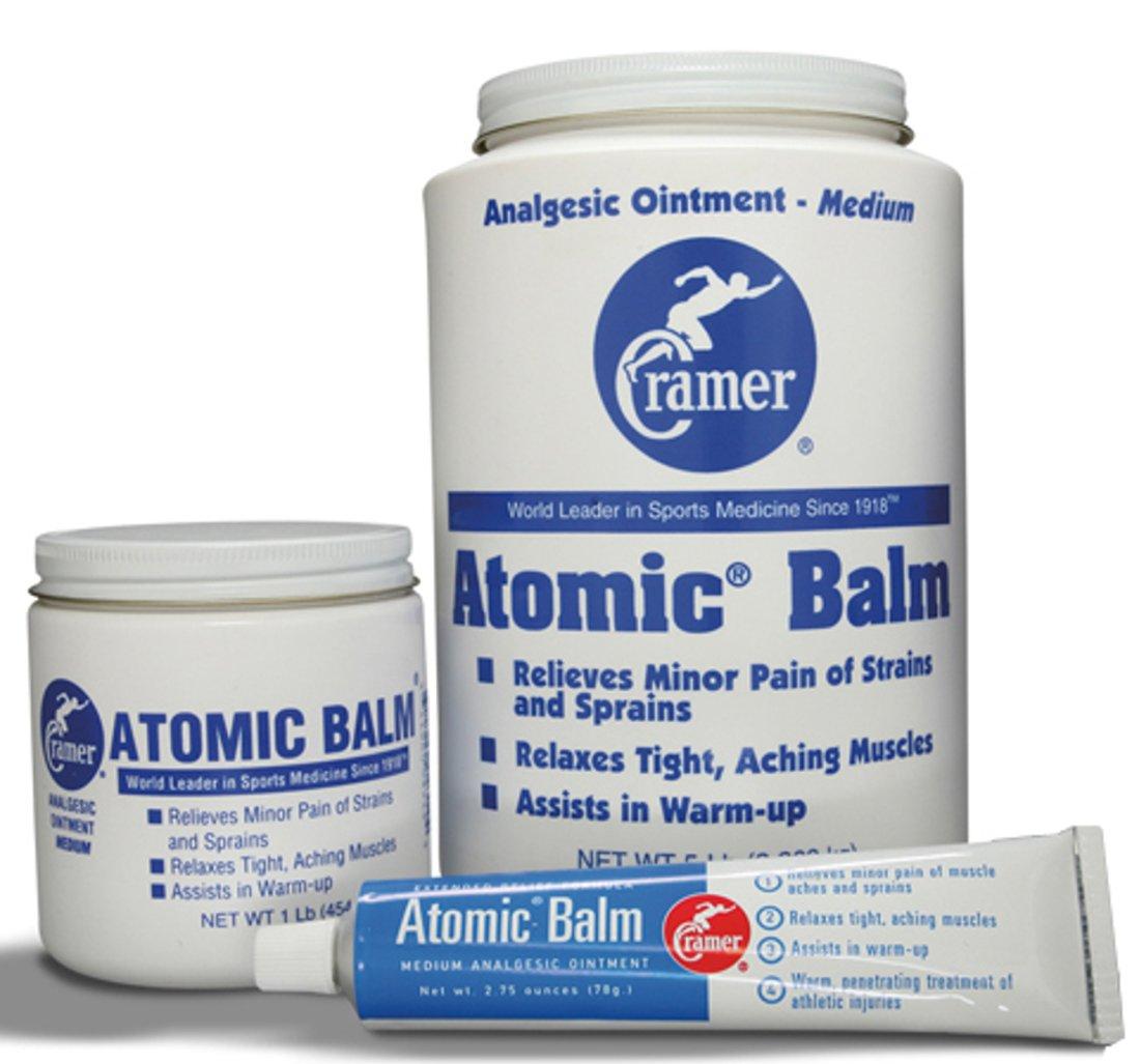 Cramer 015540 Atomic Analgesic Balm, 5 lb. Jar (Pack of 6)