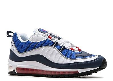 Air Max 98 Bleu et Blanc Chaussures de Gymnastique Homme (36 EU)